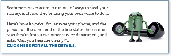 """Scam Alert - Beware of """"Can You Hear Me?"""" Robocall"""
