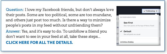 Stop Seeing Facebook Posts Without Unfriending