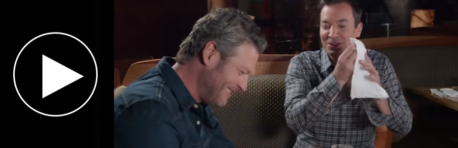 Jimmy convinces Blake to try Sushi