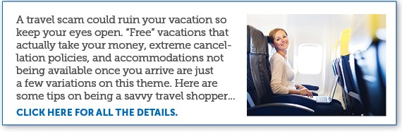 "Stay Alert – Beware Of ""Too Good To Be True"" Travel Deals"