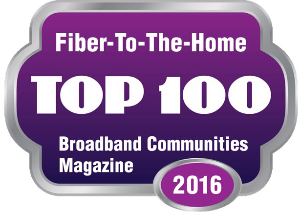 Top 100 Fiber-To-The-Home Provider!