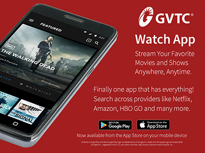 Get the GVTC Watch App!