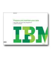 Prepare and maintain your data