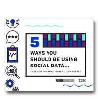 5 manieren waarop je social data kan gebruiken
