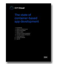 De status van de container-based applicatie ontwikkeling