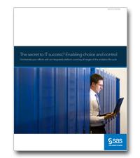 Het geheim tot IT-succes? Meer keuze en controle